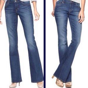 GAP Curvy Bootcut Denim Jeans Size 31 Size 12 R